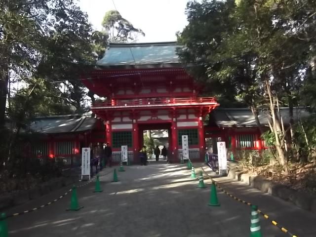 井草八幡宮 楼門