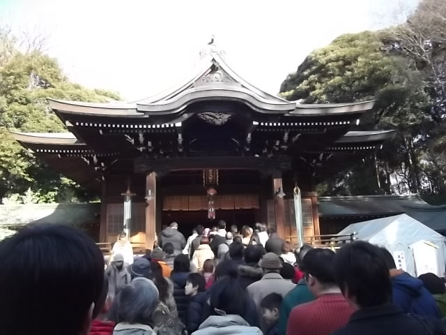井草八幡宮 拝殿