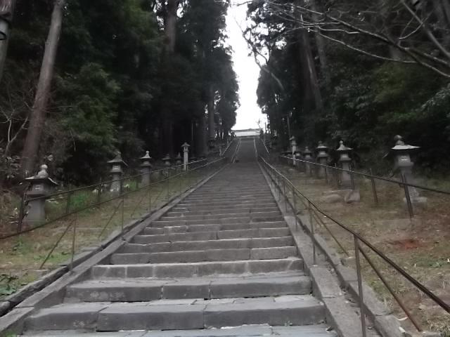鹽竈神社 表坂(男坂)