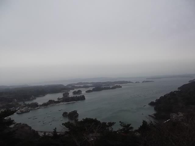 大高森山頂からの眺望