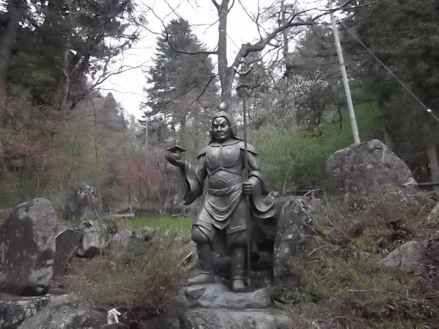 榛名神社 毘沙門天