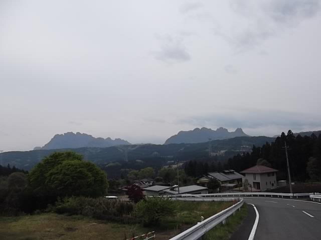 妙義山遠景