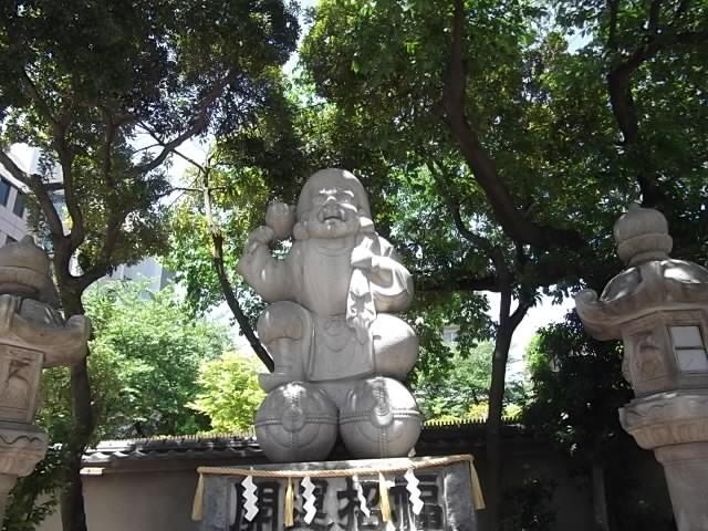 大黒様石像
