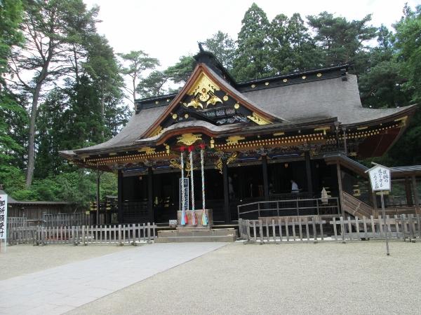 大崎八幡宮 社殿