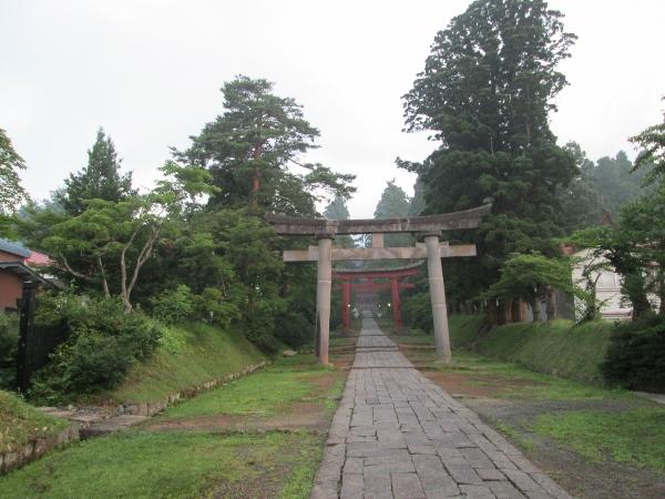 岩木山神社参道
