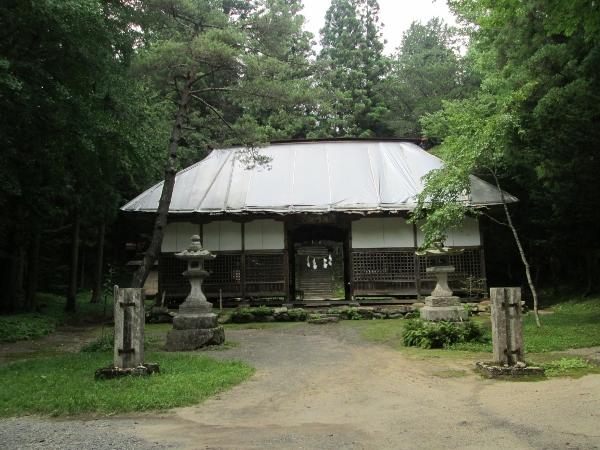 早池峰神社 拝殿