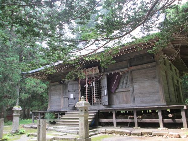 早池峰神社 本殿
