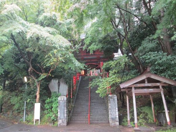水澤寺入口