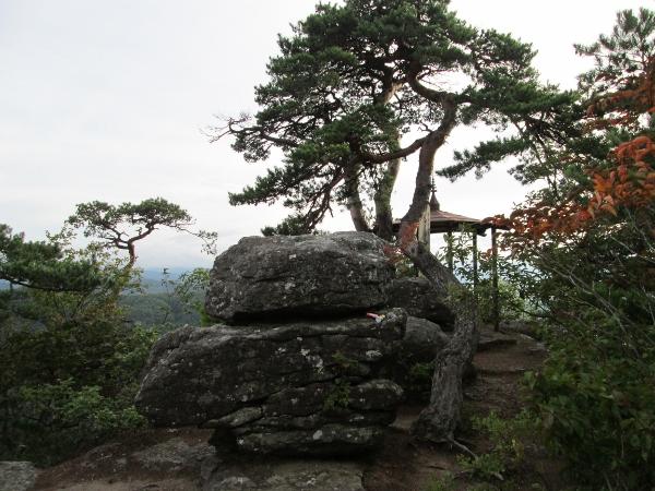 閼伽流山 展望台