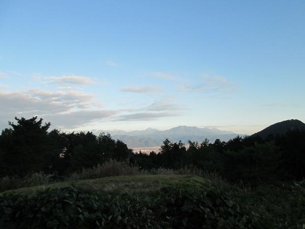 浅間神社の裏からの景色