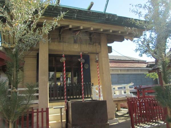 皆中稲荷神社 社殿