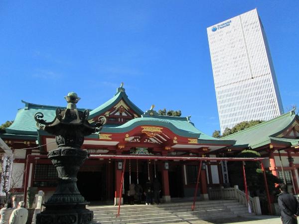 日枝神社 拝殿
