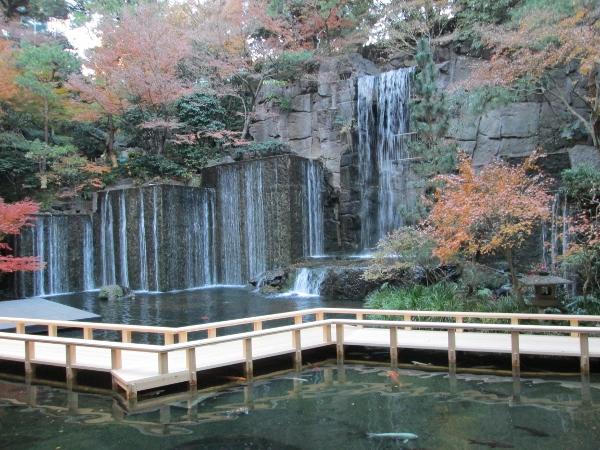 目黒雅叙園 滝