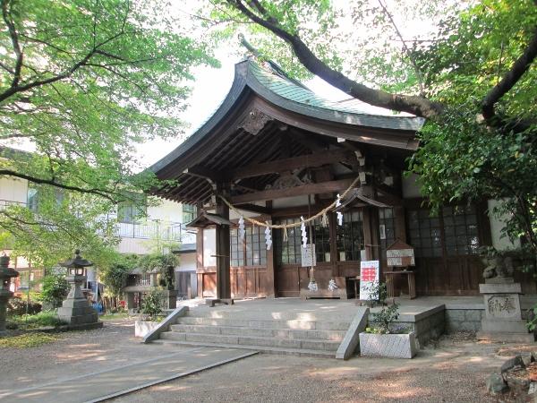 萱津神社 拝殿