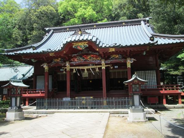 伊豆山神社社殿
