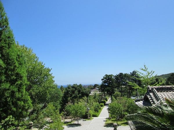 高家神社からの眺め