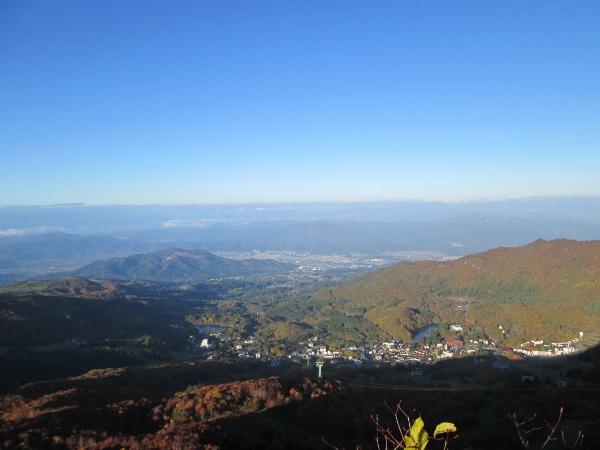 兜山山頂からの眺め