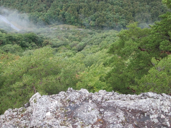 仏岩からの眺め
