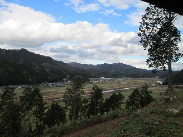 古城山からの眺め